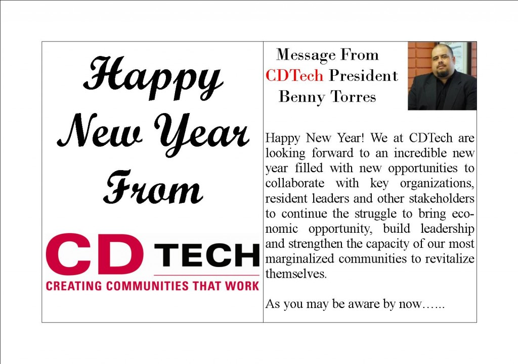 happy new year we at cdtech are looking forward