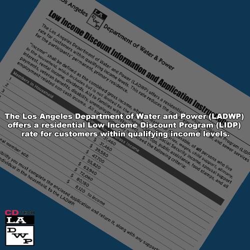 LADWP Low Income Discount Program (LIDP) – CDTech – Community